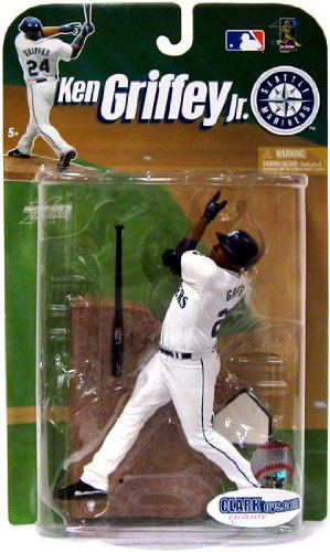 3f7ccc6606 Image Unavailable. Image not available for. Color: Ken Griffey Jr.  CLARKtoys Exclusive McFarlane MLB Seattle Mariners ...