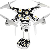 MightySkins Protective Vinyl Skin Decal for DJI Phantom 3 Professional Quadcopter Drone wrap cover sticker skins Daisies