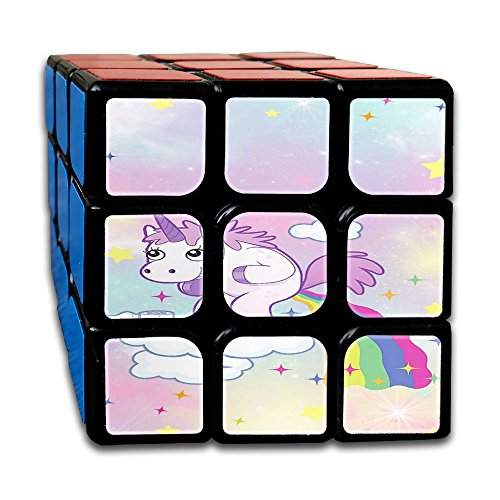 Unicorn Horse Non-toxic Durable Lightweight Turning Reliable Toys Games Cube Magic Cube 3x3x3 For Men&women Kids