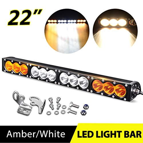 22u2033-24u2033 CREE LED Offroad Light Bar Combo Amber u0026 White ...