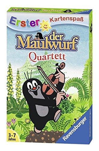 Der Maulwurf - Quartett Ravensburger Buchverlag Kartenspiele Kinderspiele Non Books
