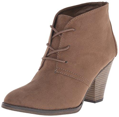 MIA Women's Shawna Boot, Taupe, 9 M US (Mia Wedge Shoes)