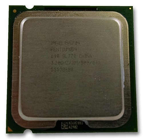 Intel Pentium P4 640 SL8Q6 SL7Z8 Desktop CPU Processor LGA 775 2MB 3.20 GHz 800 MHz