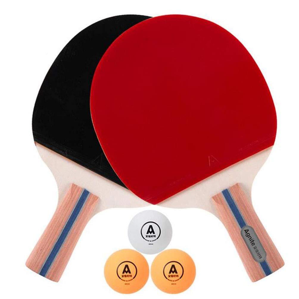 KUANDARPP Raqueta De Tenis De Mesa Ping Pong (Due Racchette + tre ...