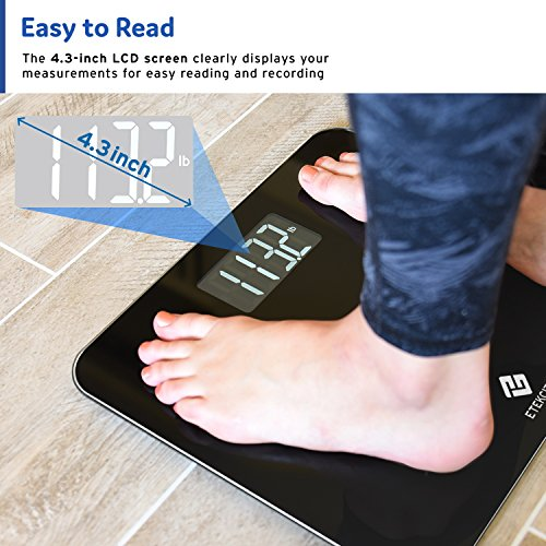 Etekcity High Precision Digital Body Weight Bathroom Scale with Step-On Technology, 440 Pounds by Etekcity (Image #1)