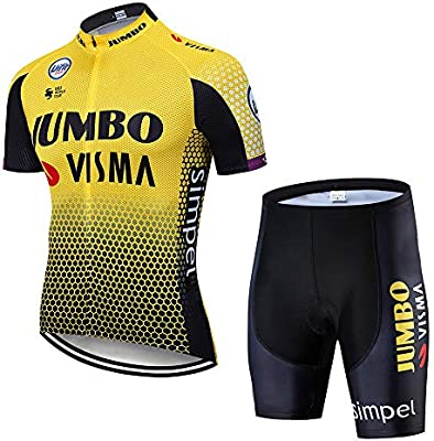 Maillot Ciclismo Hombre Verano Ropa MTB + Pantalones Cortos ...