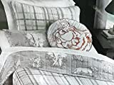4-pc SAFARI ANIMALS FULL/QUEEN Quilt Set - (set includes 2 shams, 2 pillows & Quilt) lion elephant zebra tiger giraffe JUNGLE ANIMALS