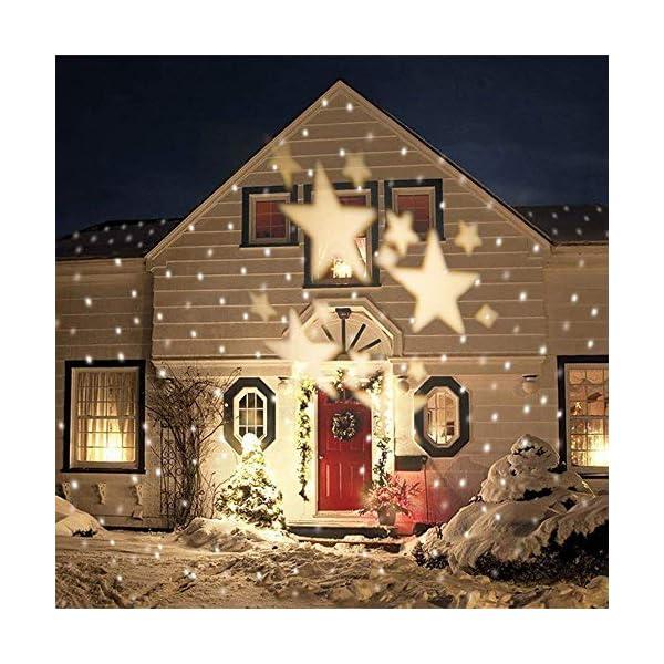 Illuminazioni esterne natalizie