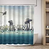 Best Star Wars Home Curtain Panels - AT-AT Empire Strikes Back In Star Wars Movie Review