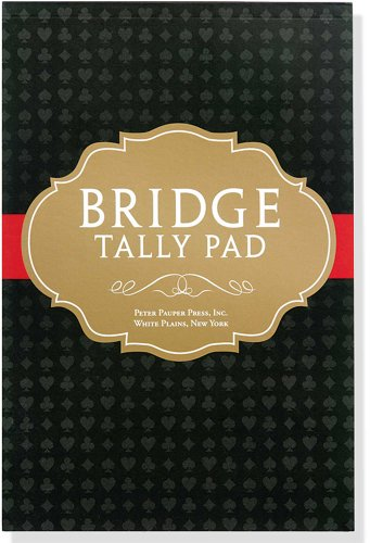Bridge Tally Pad (Score Pad)
