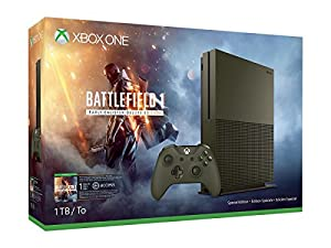 Xbox One S 1TB Console – Battlefield 1 Special Edition Bundle
