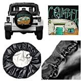 Happy Camper Spare Tire Covers Potable Ployster