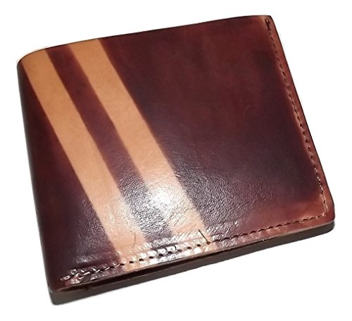 J Fold Bi Fold Wallet (J Fold Men's Leather Roadster Bifold 8 Pocket Credit Card Wallet Brown)