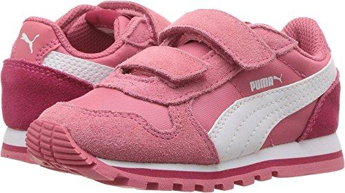 PUMA Baby ST Runner NL V, Rapture Rose White, 9 M US (Puma Icon)