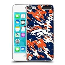 Official NFL Camou Denver Broncos Logo Hard Back Case for iPod Touch 5th Gen / 6th Gen