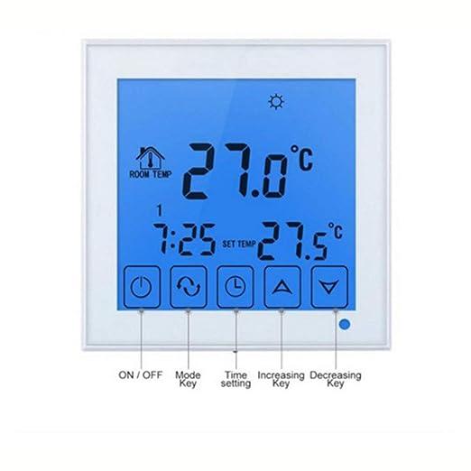 creatspaceE HY03WW-1 - Termostato Inteligente, WiFi, inalámbrico ...