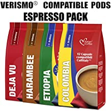 48 Espresso drinks mixed pods compatible with VERISMO system