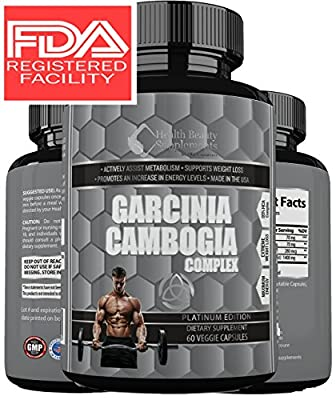 * MUSCLE PHASE EXTREME 95% HCA GARCINIA COMPLEX ** Most Potent Lab Tested Garcinia Cambogia Ever Made - 3rd Party Tested For Maximum Elite Results - Muscle Phase Platinum Range by HB&S Solutions