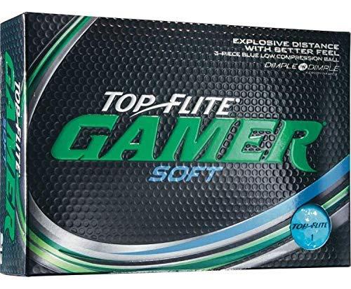 Top-Flite Gamer Soft Blue Golf Balls