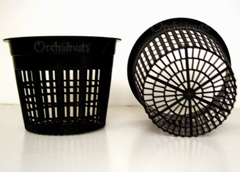 5 Inch Round Orchid Hydroponics Slotted Mesh Net Pot