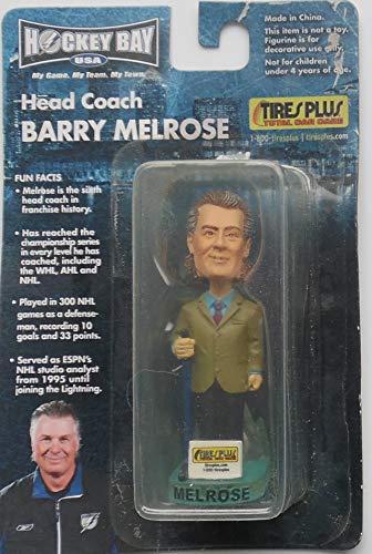 "Hockey Bay USA Barry Melrose 3"" Bobbing Head Figure Tires Plus Total Car Care Promo"