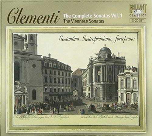 Clementi, 'The Complete Sonatas, Volume 1 - The Viennese Sonatas', Op.7 #'S 1-3, Op.8 #'S 1-3,