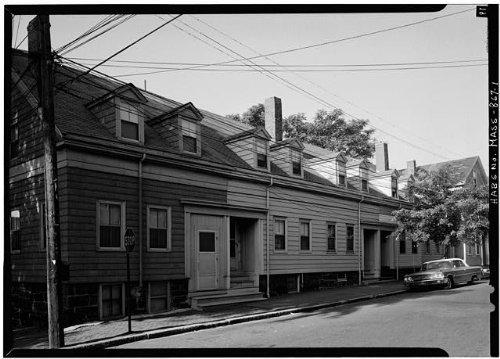 Photo: 84-92 Spring Street (Row Houses),Cambridge,Middlesex - Ma Frames Cambridge Street A