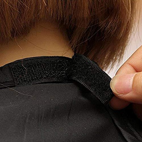 Yichener 120/x 80/cm Man Tablier de salle de bain Noir Barbe Cheveux Tablier Tablier de rasage pour homme /Étanche Floral Chiffon M/énage Protecter