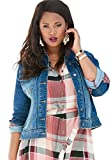 Product review for Roamans Women's Plus Size Cuffed Denim Jacket