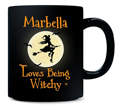 Marbella Loves Being Witchy Halloween Gift - Mug