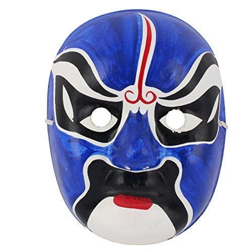 DealMux Unisex Halloween Karneval Cosplay Parties Chinese Beijing Opera Facial Makeup -