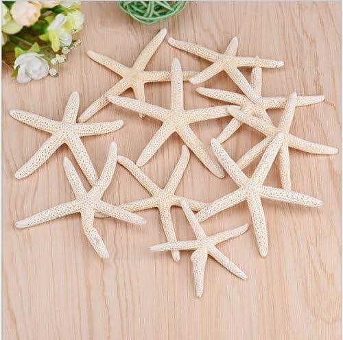 10x resina miniatura estrella de mar acuario ornamento decoración