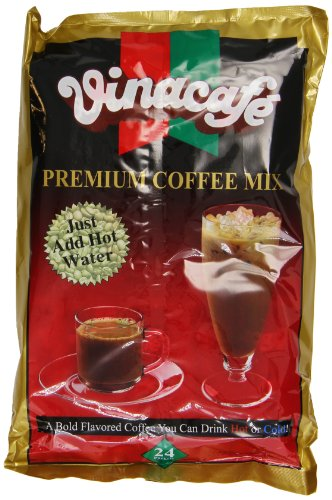 Vinacafe Premium Coffee Mix, 24-Count Packages (Pack of 5) 1 Instant Coffee Mix
