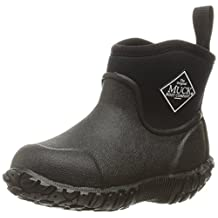 Muck Kid's Muckster Waterproof All Weather Rubber Ankle Boots Black C11 US
