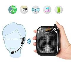 Portable Voice Amplifier Wireless
