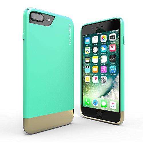 iphone-7-plus-case-casecrown-lux-glider-case-mint-gold-dual-color-w-matte-finish-felt-interior