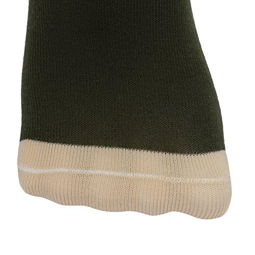 Big Boys Cotton Seamless Socks Crew Atheletic Sport Socks for Kids 6 Pack 10T/11T/12T/13T by HowJoJo (Image #5)