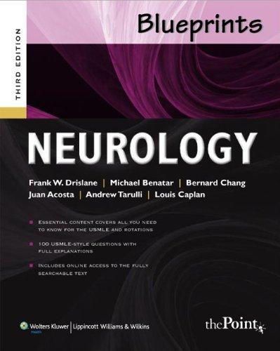By Frank W. Drislane MD - Blueprints Neurology (3rd Edition) (12.8.2008)