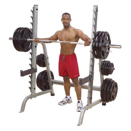 Body-Solid Multi-Press Rack Ironcompany.com