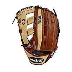 The Wilson A2K 1775 is a new outfield pattern in the Wilson A2K glove line. This glove, available in right- and left-hand throw, is made with a Wide Single Post Web and is perfect for outfielders who enjoy a shallow pocket for easy access to ...