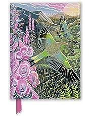 Annie Soudain: Foxgloves and Finches (Foiled Journal)