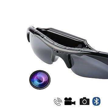 720P Mini HD Video Kamera Brille Spion Sonnenbrille Sportlich Spy camera