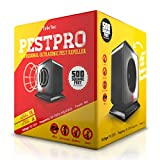 TinkrTec PestPRO Ultrasonic Electronic Pest Repeller with Adjustable Frequency ()