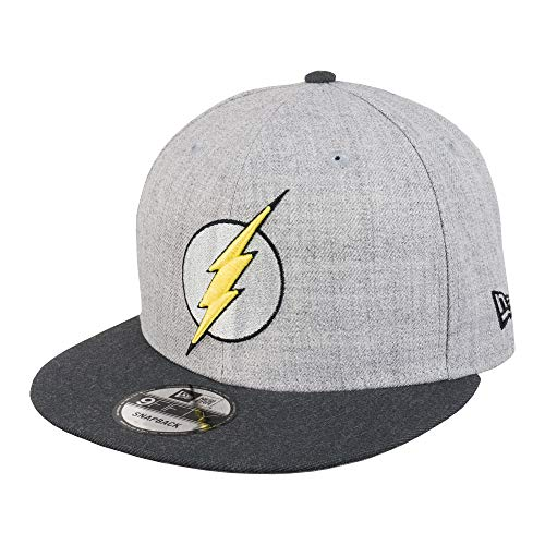 New Era 9FIFTY DC Flash 950 Snapback Cap - One Size Grey