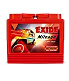 Exide Mileage Car Battery Din50-50ah