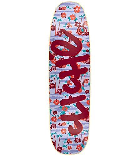レーザ習熟度後継クリシェスケートボードデッキHandwritten Aloha Cruiser r7ブルー/レッド8.8