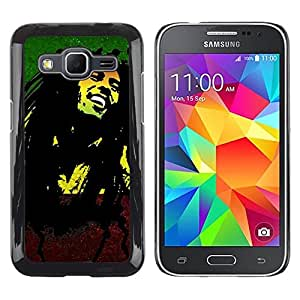 LOVE FOR Samsung Galaxy Core Prime Jamaica Reggae Music Rasta Weed Personalized Design Custom DIY Case Cover