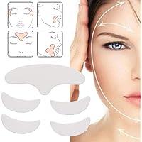 Gezicht Rimpel Pads voor Mannen Vrouwen 5 Pack Herbruikbare Face Lift Masker Anti Rimpel Siliconen Patches Voor…