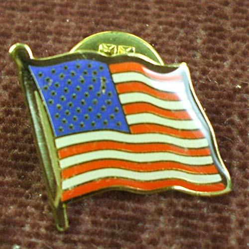 - KDA lot of 10 American Flag enameled Lapel pins