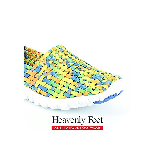 Heavenly Giallo Colore blu Stomp Feet wxfqxp40r1